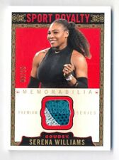 2018 GOODWIN CHAMPIONS SERENA WILLIAMS GOUDEY SPORT ROYALTY 3 COLOR PATCH #6/25