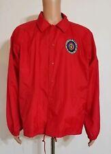 Military Order Purple Heart 1782 Of The U.S.A.1932 Red Windbreaker Jacket XL