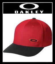 OAKLEY ELLIPSE CAP HAT FLEXFIT SIZE OSFA - COLOR RED LINE (NEW) MSRP $32