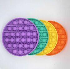 Push Pop It Bubble Pops Fidget Sensory Toy Silent Autism Stress Relief Kids Game