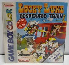 LUCKY LUKE DESPERADOS TRAIN - GAME BOY COLOR NINTENDO BOXED