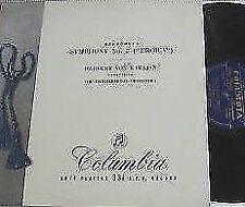 Symphony Classical 33 RPM Speed Vinyl Records
