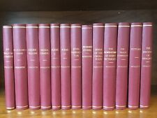 George Meredith collection of 13 books inc. Poems, Constable of London 1905-1918