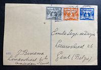 1931 Amsterdam Netherland Stationery Postcard Cover To Gent Belgium