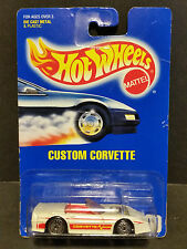 1991 Hot Wheels #200 : Custom Corvette - 2898
