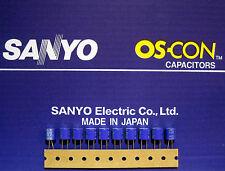 10pcs Oscon Sanyo OS-CON 330µF/6,3V