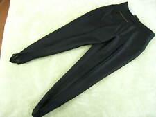 BOGNER Wool Blend Black Riding Pants US 14 REGULAR, stirrup, excellent condition