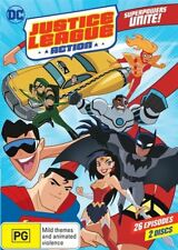 Justice League Action DVD NEW 26 episodes Region 4