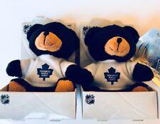 Lot Of 2 Toronto Maple Leafs Bear Plush Stuff Toy Bear Loot Bag Party Favour