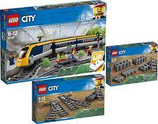 LEGO City 60197 60205 60238 Personenzug Schienen Weichen N9/18