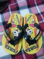 lotto 467 ciabatte infradito sandali scarpe bimbo bambino topolino n.27