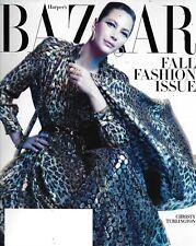 Harper's Bazaar Magazine Christy Turlington Fall Fashion Elizabeth Mcgovern 2019