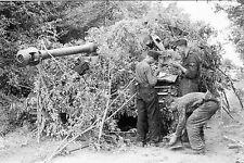 WW2 - Camouflage char Tigre Panzerdivision à Villers-Bocage en juin 1944