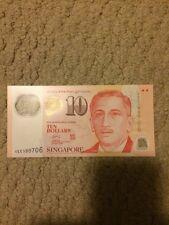 Singapore 10 (Ten) Dollars Bank Note Sports UNC