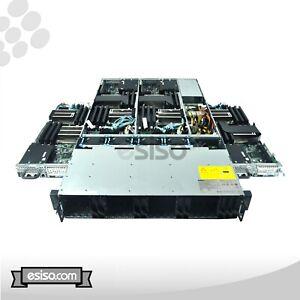 DELL POWEREDGE C6100 XS23-TY3 24SFF 8x 6 CORE X5650 2.66GHz 96GB 4x 300GB SATA