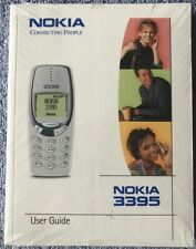 New - nokia 3395 user guide - in shrink wrap