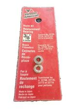 """Vermont American 22658 Carbide Tipped 5//16/""""-3//8/"""" Rabbeting Router Bit 2 Pcs."""