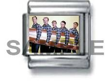 BEACH BOYS 9MM ITALIAN CHARM LINK surfing rock music icon band