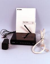 WIRELESS D-LINK N-150 ROUTER MODEL DIR-601 B1 - USED