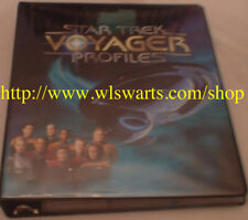 Star Trek Voyager Profiles MINI-MASTER set of 126 cards RARE! 7 Of 9 Foil RARE!