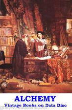 Alchemy, Alchemists Collection Rare & Vintage Books on Data Disc PDF Files