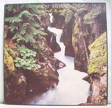 """33 tours CAT STEVENS Disque Vinyl LP 12"""" BACK TO EURTH -ISLAND 9123 036 F Réduit"""