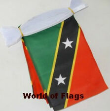 ST KITTS and NEVIS BUNTING 9m 30 Saint Christopher Caribbean Fabric Party Flags