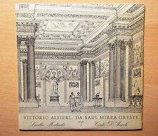 VITTORIO ALFIERI_Da Saul Mirra Oreste LP 1974