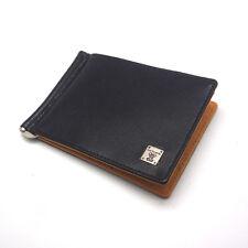 New Mens Wallet KOREA -142 Slim Fashion Leather Spring Money Clip Purse So Hot