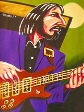 JOHN ENTWISTLE PRINT poster bass guitar the who who's next cd tommy quadrophenia