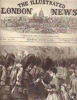 1870 Illustrated London News Aug 6 Emperor goes to Metz