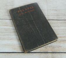 Pas a Pas A French Reader for Beginners McGill & De Lautreppe 1922 Merrill