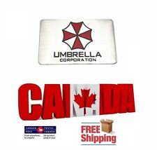 New Aluminum 3D Car Emblem Badge Resident Evil Decal Umbrella Corporation