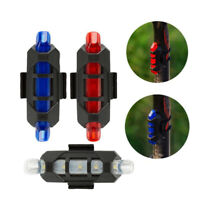 USB Rechargeable LED Tail Light Rear Tailight Road/MTB Bicycle Bike Warning Lamp