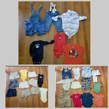 Huge 30 Piece Boys Newborn-6 month clothing lot Under Armour Old Navy Lucky