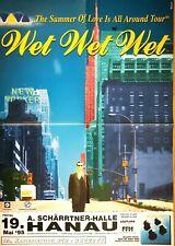 WET WET WET 1995 HANAU - orig.Concert Poster - Plakat A1 F/U 665