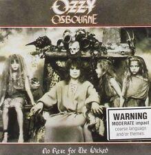 Ozzy Osbourne No Rest for The Wicked CD Album 2 Bonus Tracks