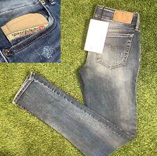26s Diesel Grupee Super Slim Skinny Low Waist Pantaloni Jeans - Size 8 - 26W 30L