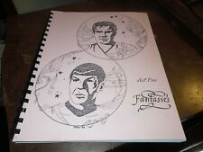 "Star Trek Fanzine "" Fantasies Act Five """