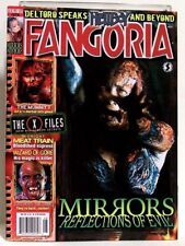 """FANGORIA"" Magazine Issue #275 (Aug 2008) HELLBOY, MIRRORS, X-FILES, MUMMY 3"