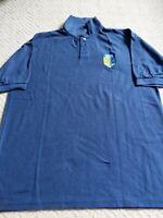 GENUINE RARE England v New Zealand 1999 CRICKET CLUB POLO SHIRT adult large