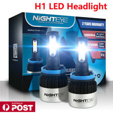 Nighteye 72W H1 LED Headlight Light Bulbs Conversion Lamp Beam 6500K White