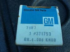 NOS GM 70 71 72 73 74 75 76 77 78 79 80 81 CORVETTE  Muncie 4SP Shifter Knob