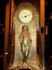 Antique Art Nouveau Novelty Clock