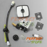 Carburetor Carb Kit for DOLMAR MS 22C Weed Eater Air Filter Fuel Line Spark Plug
