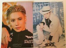 Taemin SuperM 100 Postcard Set