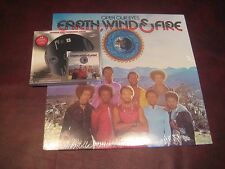 EARTH WIND & FIRE OPEN YOUR EYES COLUMBIA PC-32712 LP + AUDIOPHILE SACD COMBO