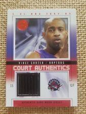 Vince Carter Jersey Card Raptors 472/500