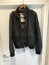Abercrombie & Fitch Brown leather jacket
