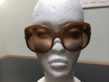 ROBERTO CAVALLI Assarraco 313 T28  Bronze Rhinestone Crystal Sunglasses Italy